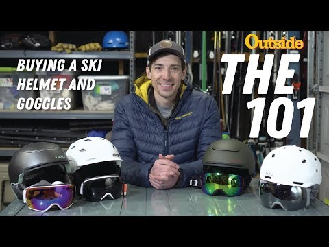 The 101: Buying A Ski Helmet And Goggles