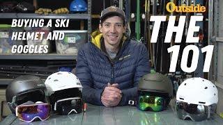 Ski Helmet - The 101: Buying a Ski Helmet and Goggles