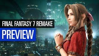 Final Fantasy 7 Remake | PREVIEW | Imposante Neuinterpretation
