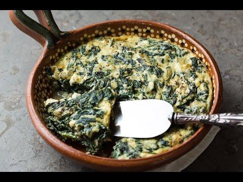 Spinach, Ricotta & Feta Soufflé