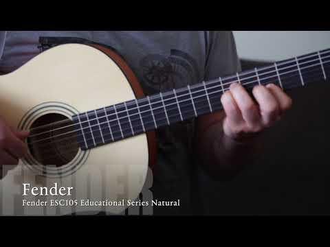 Fender ESC105 Educational Series Natural