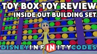 Inside Out Building Set - Inside The Toy Box - Disney Infinity 3.0