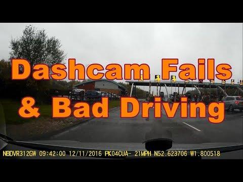 UK Dashcam Fails & Observations (Cumbria) #5 - Peeps be Crashing