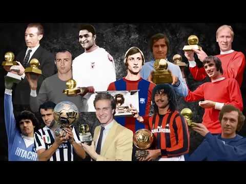 Những cầu thủ từng đoạt Quả Bóng Vàng từ năm 1956 đến 2016