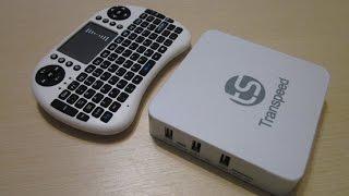 TV BOX на android 4.4.2. MINI Keyboard. розпакування та випробування