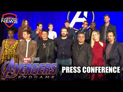 Marvel Studios' Avengers: Endgame - Full Press Conference