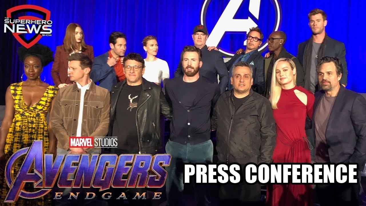 Marvel Studios' Avengers: Endgame - Full Press Conference