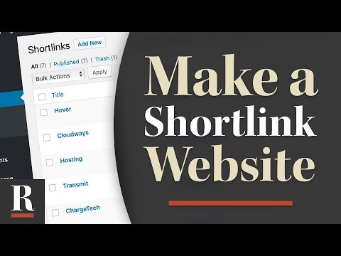 Create Your Own Shortlink Service In WordPress