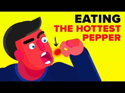 I Ate The Hottest Pepper In The World And This Is What Happened - Challenge