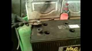 reparacion de borne de bateria