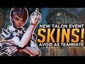 Overwatch: NEW Doomfist & Sombra SKINS! - Avoid As Teammate