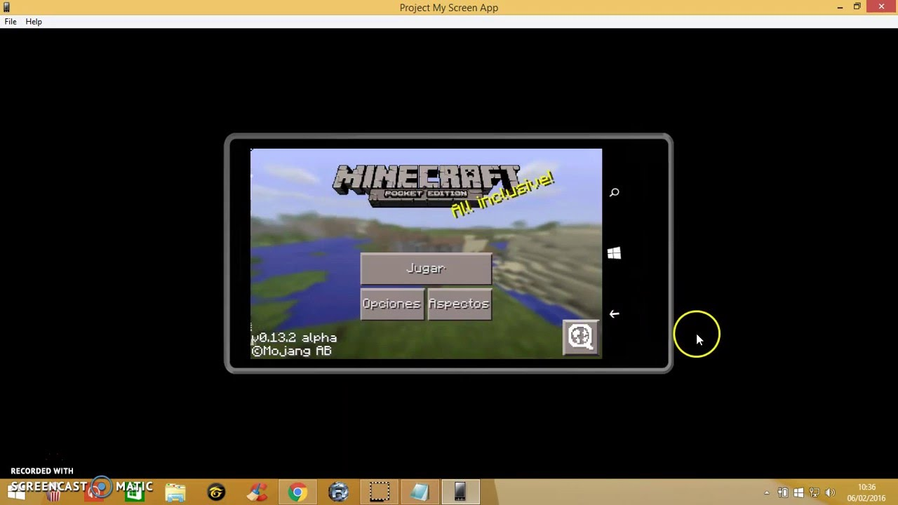 how to make a phone in minecraft pe