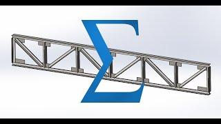 Solidworks. Часть 2 . Автоматизация при проектировании фермы.