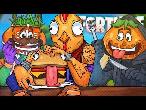 THE ULTIMATE FAST FOOD SQUAD! - Fortnite Battle Royale!