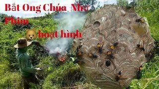 Bắt Ong Như Phim Ama Thi - Ngân - Nha - Phuong