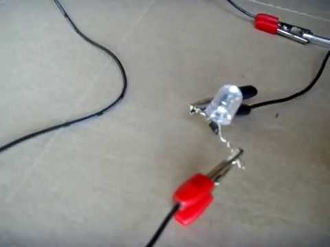 SIMPLE 120/240 VAC LED Power Indicator - YouTube