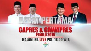 Download Video Saksikan Debat Capres & Cawapres Pemilu 2019 Pertama Malam ini! - 17 Januari 2019 MP3 3GP MP4