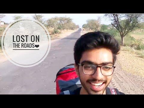 Travel with hitchhiking only Ep#1   New experiences   Bikaner   India   Log kya kahenge..