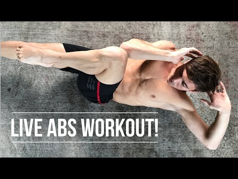 CAN YOU KEEP UP? | LIVE ABS WORKOUT | Tom Daley