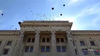Черные шары и белые голуби: 2 мая на Куликовом поле в Одессе