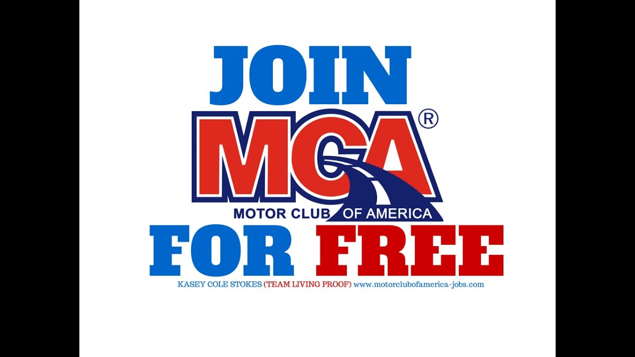 Join Motor Club Of America MCA FOR FREE YouTube