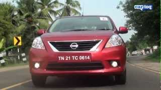 Nissan Sunny XV Petrol Video Review - Road Test and Video review by CarToq
