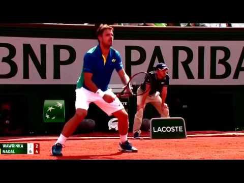 Nadal vs Wawrinka - Roland Garros final 2017 highlights.