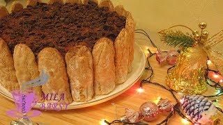 Праздничный бисквитный торт Тирамису 🎄 Новогодний рецепт 🎄 Christmas cake Tiramisu