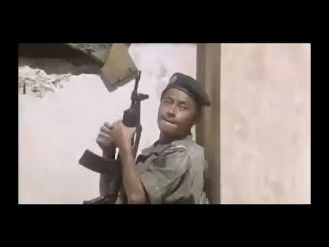 香港电影枪战场面《战龙在野》:中东沙漠枪战