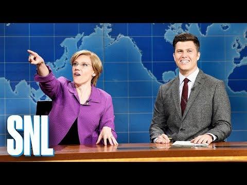 Kate McKinnon's Elizabeth Warren Fakes Horror That Billionaires Don't Like Her On 'SNL'