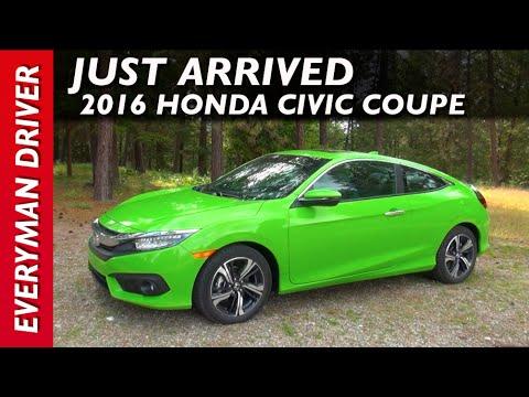 Just Arrived: 2016 Honda Civic Coupe on Everyman Driver