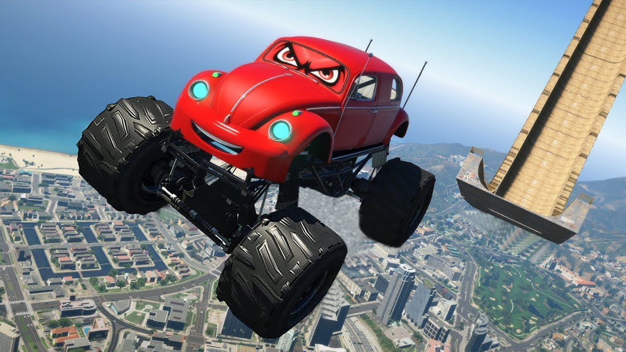 Volkswagen Beetle Monster Truck Cars / GTA 5 Cars Mods