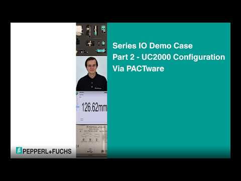 Series IO Demo Case | Part 2 - UC2000 Configuration via PACTware
