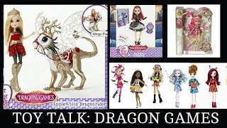 Toy talk ever after high dragon games monster high great scarrier reef
