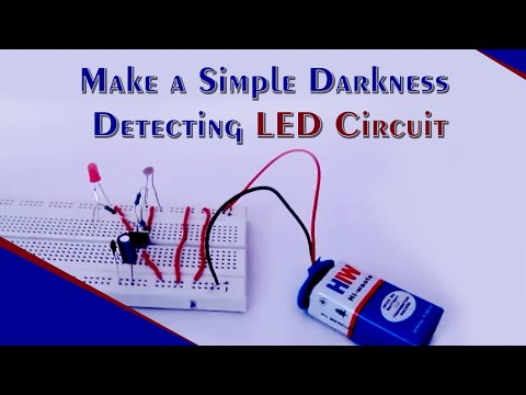 dark detecting led using ldr and 555 timer ic youtube rh youtube com