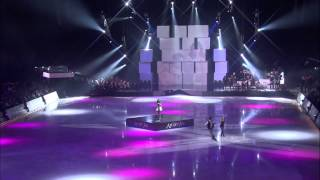 Art on Ice 2012 - Anna Cappellini & Luca Lanotte with Dionne Bromfield