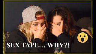 Lesbian sex tape