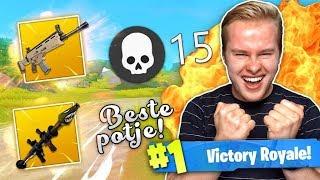 1 VAN MIJN BESTE POTJES SOLO OOIT!! - Fortnite Battle Royale (Nederlands)