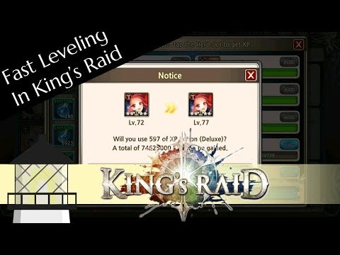 King's Raid: How To Level Units Quickly