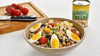 Salata De Fasole Cu Pui | Jamilacuisine