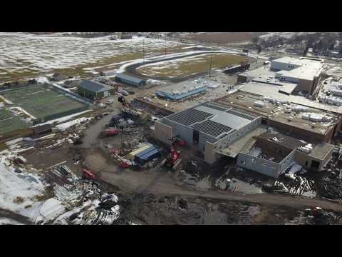 New Hutchinson High School Construction - April 20th 2018