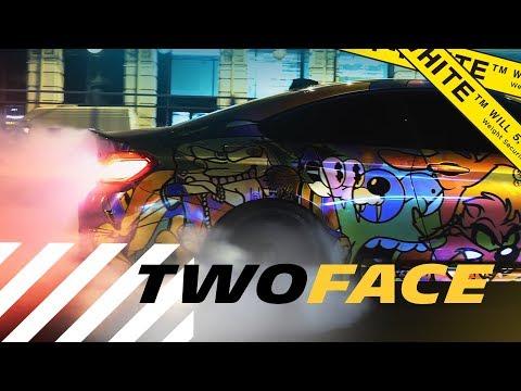 Новый облик TwoFace M4. Нелегальный дрифт в центре Санкт-Петербурга