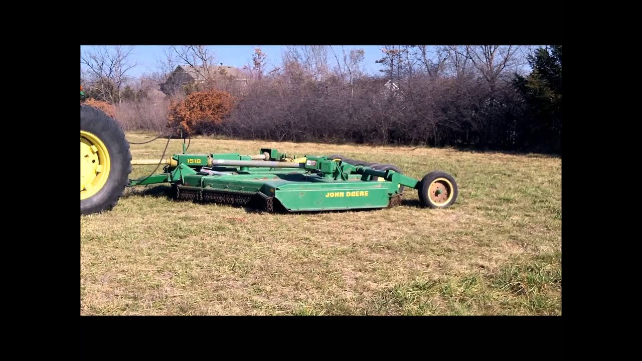 John Deere 1518 Batwing Rotary Mower For Sale Sold At