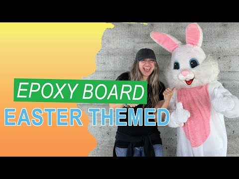 Easter Epoxy Board | Sneak Peaks Of Hopper | Leggari Products