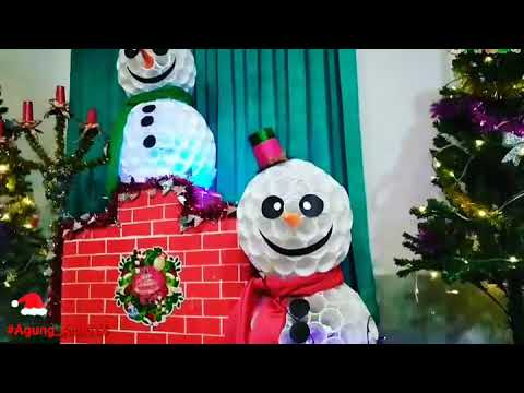 dekorasi natal sederhana - youtube