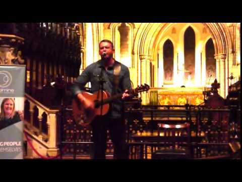 Damien Dempsey at Coolmine's Graduation, St Patricks Cathedral