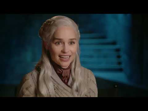 Emilia Clarke thanks the Game of Thrones fans.