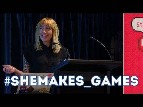 #SheMakes_Games - Melbourne International Games Week