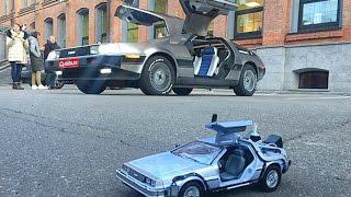 Школьник сделал машину времени DeLoreanDMC-12
