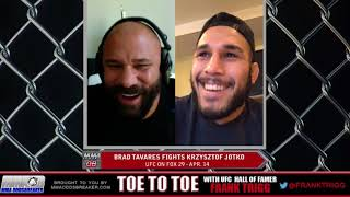 Frank Trigg pre-fight interview with UFC on FOX 29's Brad Tavares